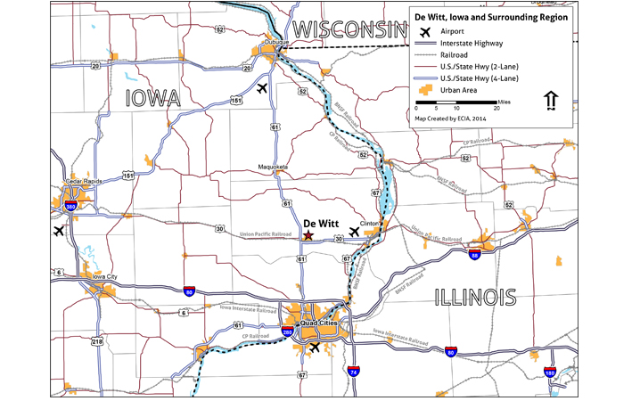 Maps S In Iowa Map on